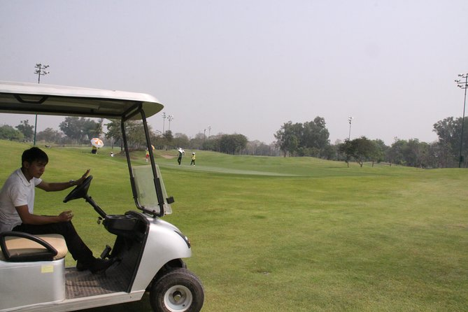 1 day Vientiane Long Thanh Golf Club plus Buddha park