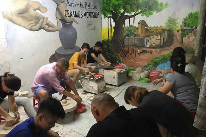 Bat Trang Pottery Class in Hanoi Old Quarter