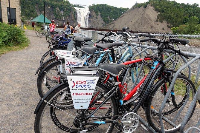 4 Hour Bike Rental in Quebec City, Quebec, CANADA