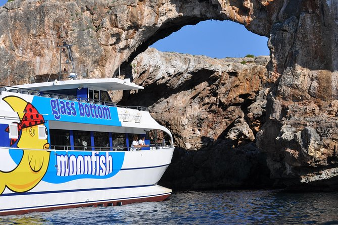 Glassbottom Catamaran: Short-Trip along the East Coast of Majorca