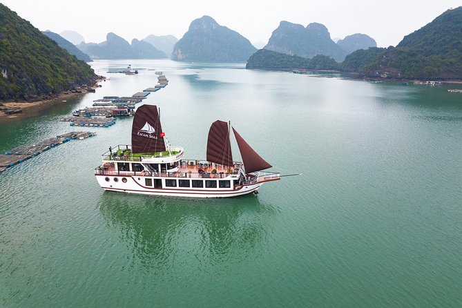 The Escape Sails – A Luxury Halong Bay Day Tour with a Difference