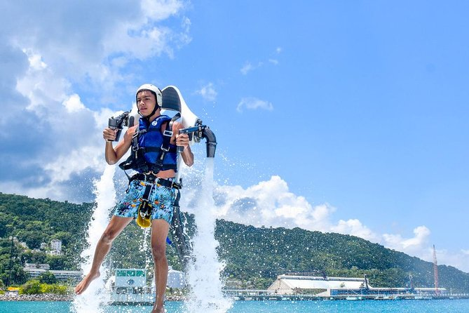 Jetpack lifetime adventure in Cancun, you deserve this!