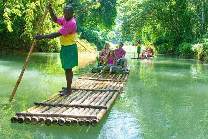 Martha Brae Bamboo Rafting from Montego Bay Hotels