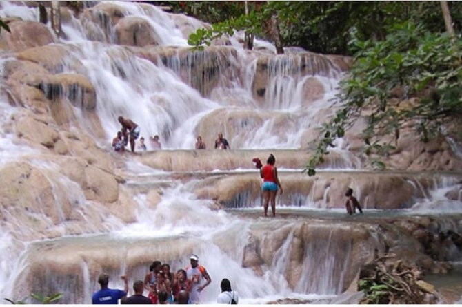 Dunns River Falls & Blue Hole Tour from Montego Bay