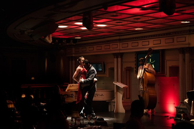 Skip the Line: Tango Show Ticket at Señor Tango with Optional Dinner