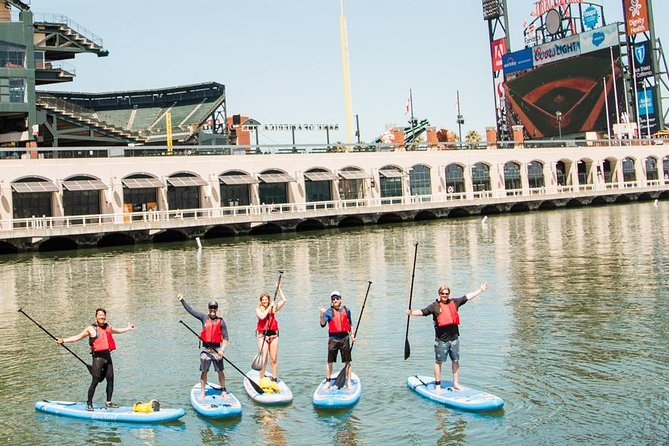 Stand-Up Paddleboarding in San Francisco's Mission Bay