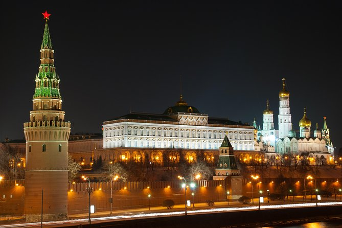 Moscow Private Night Tour