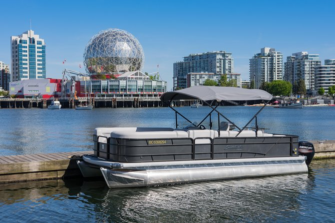 Boat rental in beautiful downtown Vancouver