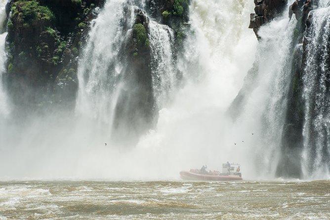 Iguassu Falls Brazilian-Side Day Tour with Safari Boat Ride