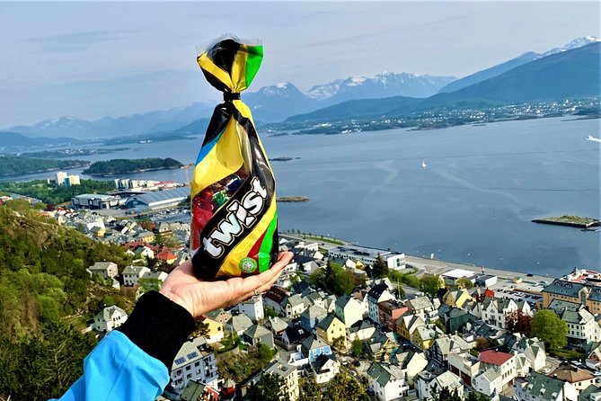 Private city walk in Alesund with a Twist