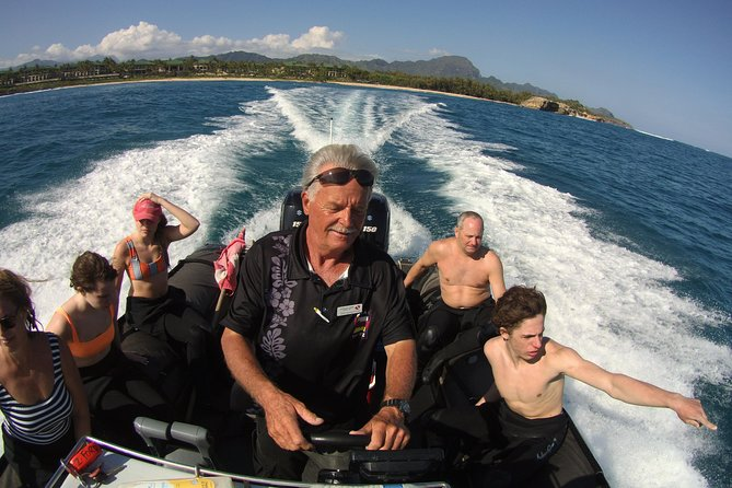 Kauai's Ultimate Zodiac Boat 2 Tank Adventure Dive (Certified Divers Only)