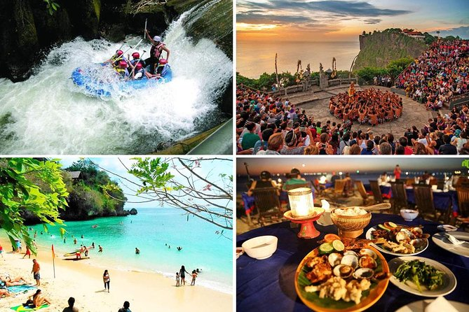 Melangit White Water Rafting and Uluwatu Tour