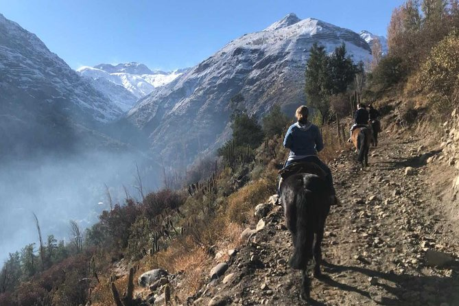 Maipo Canyon: Horseback Ride and Wine Tour & Tasting