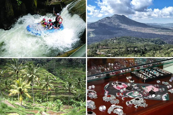 Melangit White Water Rafting and Kintamani Tour