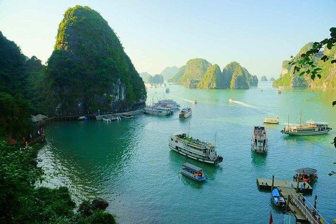 Halong Bay day tour 4 hours Cruise from Hanoi city