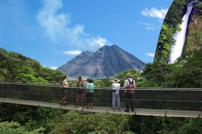 Combined Tour (Hanging Bridges, La Fortuna Waterfall, Arenal Volcano)