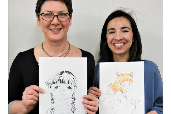 Comic-learning experience - MANGA illustration workshop! in Hiroshima city