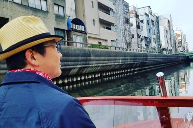 Private Cruising to Enjoy the Cityscape of Osaka from the Boat (70 min.)