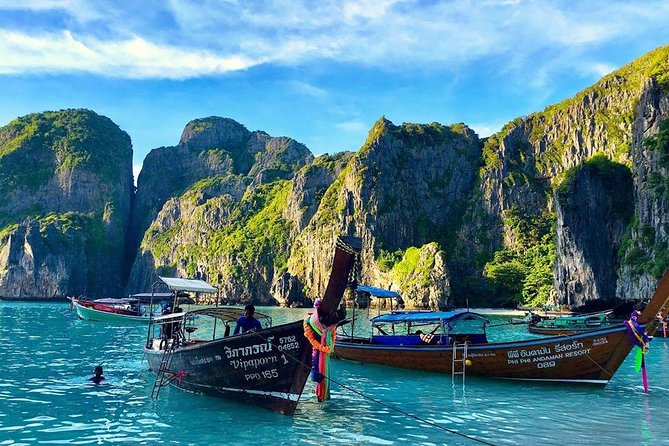 Day Tour to Phi Phi Islands by Speed Boat from Krabi