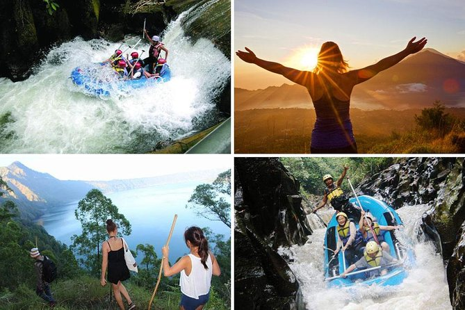 Bali Sunrise Trekking and Melangit White Water Rafting