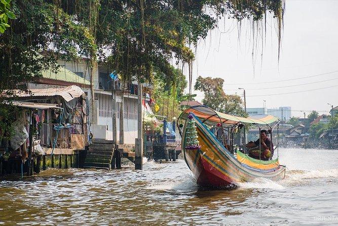 De kanalen van Bangkok verkennen