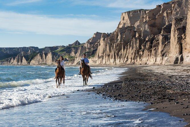 Horse Riding to Black Sandy Beach