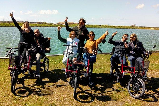 Discover Ile de Ré by bike side by side