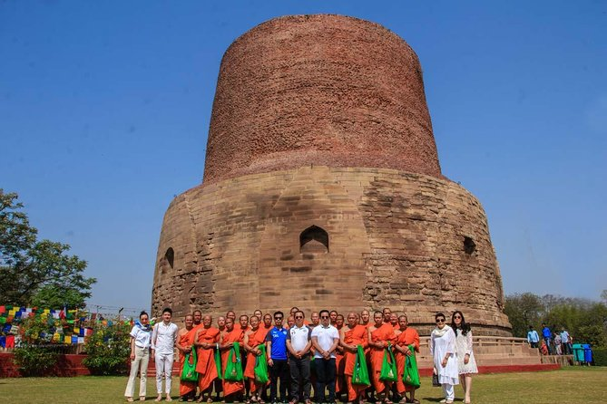 Sarnath Audio Guided Tour – The Land of Buddha's First Sermon, Varanasi