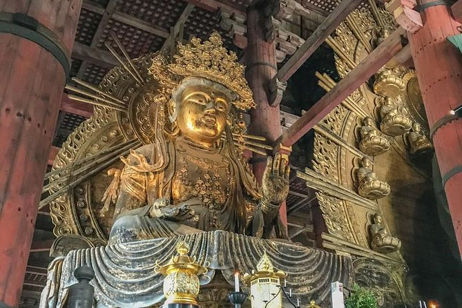 Private Tour - All You Visit Are Cultural Properties on This Tour in Nara!