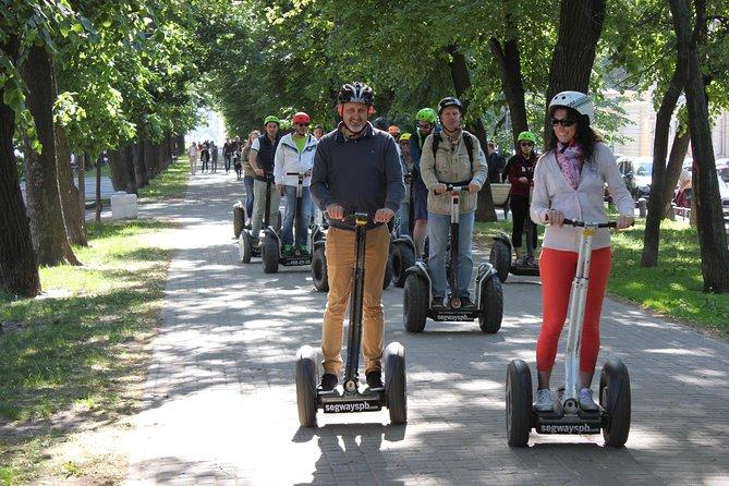 Segway tour St. Petersburg - Brief route