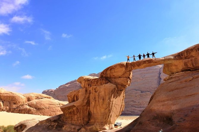 Day Tour to Petra & Wadi Rum from Amman