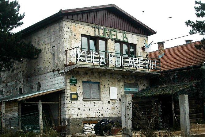 Siege of Sarajevo tour