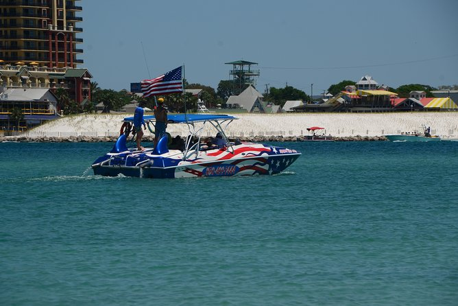 Private Boat Charter with Captain to Crab Island