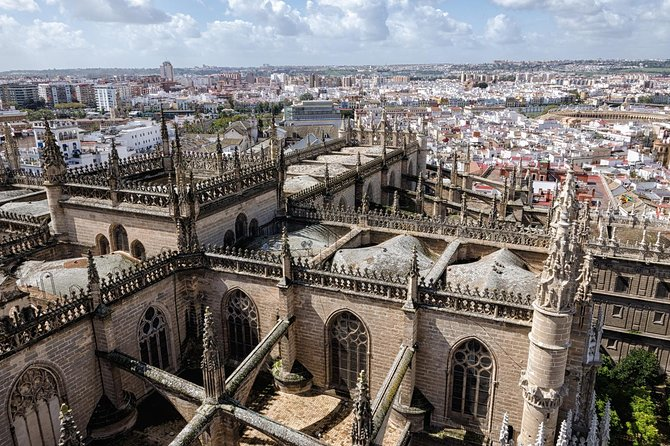 Seville Guided Tour into Alcazar and Cathedral Skip the Line