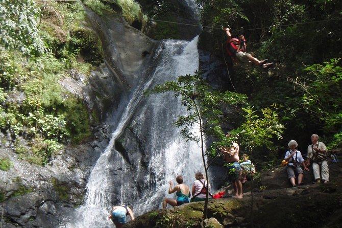 Amazing Mega Zipline (25 lines) over 11 Waterfalls/ Puntarenas Pier