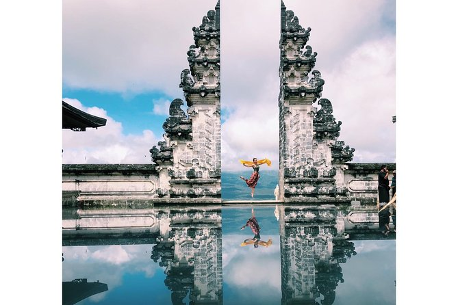Highlight Of Bali : Gate Of Heaven, Waterfall And Swing