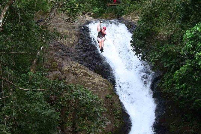 Amazing Mega Zipline (25 lines) over 11 Waterfalls