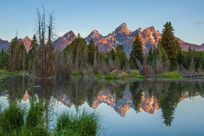 Sunrise 4-Hour Grand Teton Tour