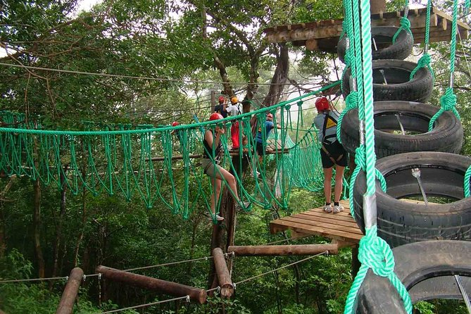 """High Ropes """"Day Pass Adventure"""" an activity for families and friends"""