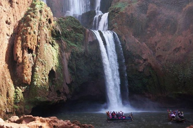 1 day at Ouzoud waterfalls
