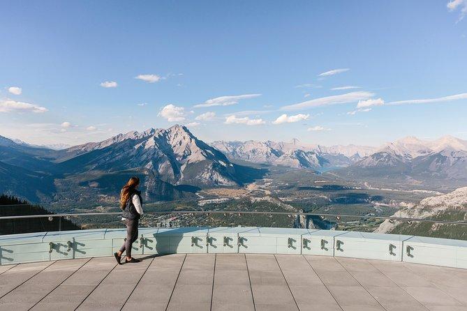 Banff : entrée pour la balade en télécabine