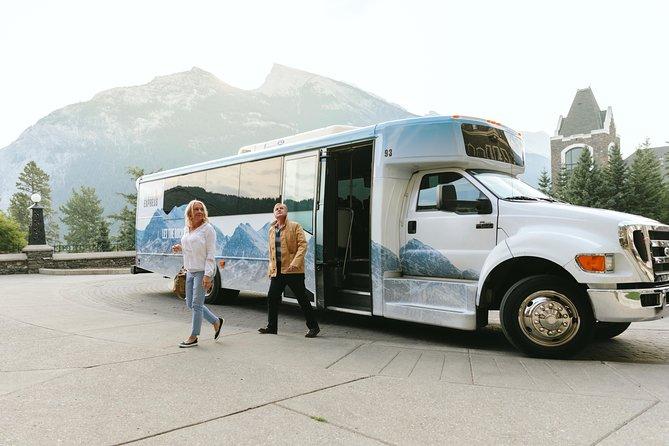 Alberta Transfer: Banff, Jasper, Lake Louise, Calgary and Kananaskis