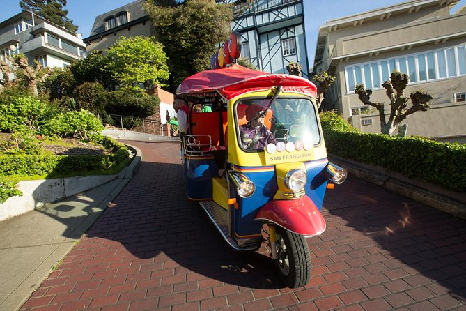 Private Lucky Tuk Tuk 2 or 3 Hour San Francisco City Tour w/ Your Own Guide