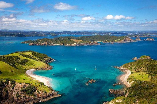 Recorrido de 5 días a la Bahía de Islas, Cuevas Waitomo, el set de rodaje Hobbiton y Rotorua desde Auckland