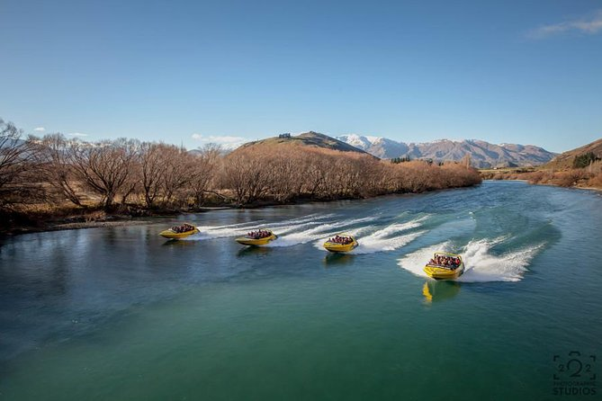 Queenstown Jet Boat Ride on the Shotover & Kawarau Rivers