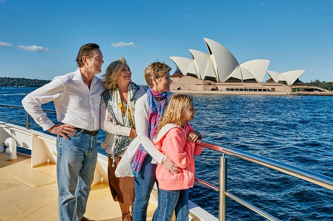 Sydney Harbour Top Deck Lunch Cruise