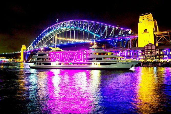 VIVID Lights Sydney Harbour Cruise