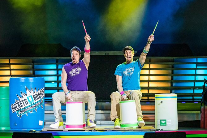 Buckets N Boards Comedy Percussion Show in Branson