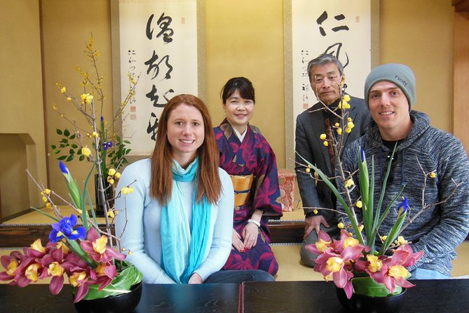 Ikebana Experience at Daisho-in Temple