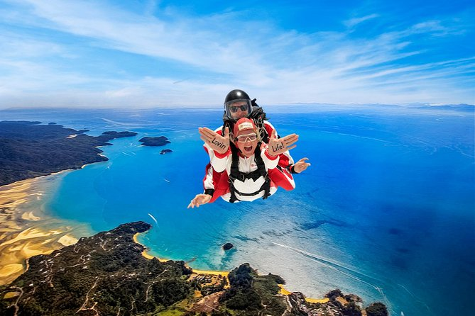 16,500ft Skydive over Abel Tasman with NZ's Most Epic Scenery